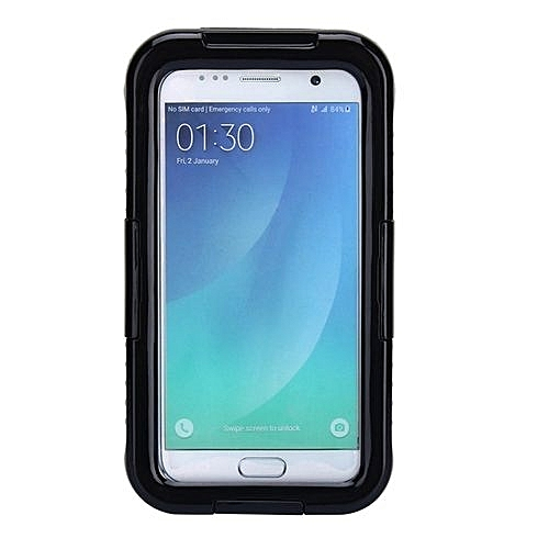 super popular db51d 81f72 Waterproof Shockproof Phone Case Cover For Samsung Galaxy S7 (Black)