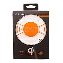 Wireless Charger for Samsung Galaxy S6, Galaxy S6 active, Galaxy S6 edge, Galaxy S6 edge+ and Galaxy Note 5.- White