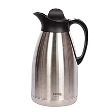 Regal Stainless Steel 2L Thermos Flask- Silver .