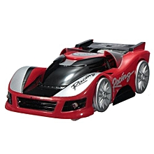 Super Wall Climbing Plastic RC Remote Control Car That Drives With Zero Gravity Red
