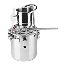 Home Brew Stainless Steel Boiler Wine Making Device Kit Water Distiller Equipment 10L