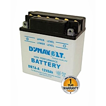 Motorcycle Acid Battery - DB7-A - White