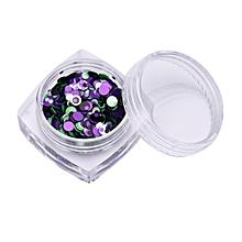 1pcs Colors Nail Art Tips Stickers Acrylic 3D Glitter Sequins Manicure DIY-Colorful