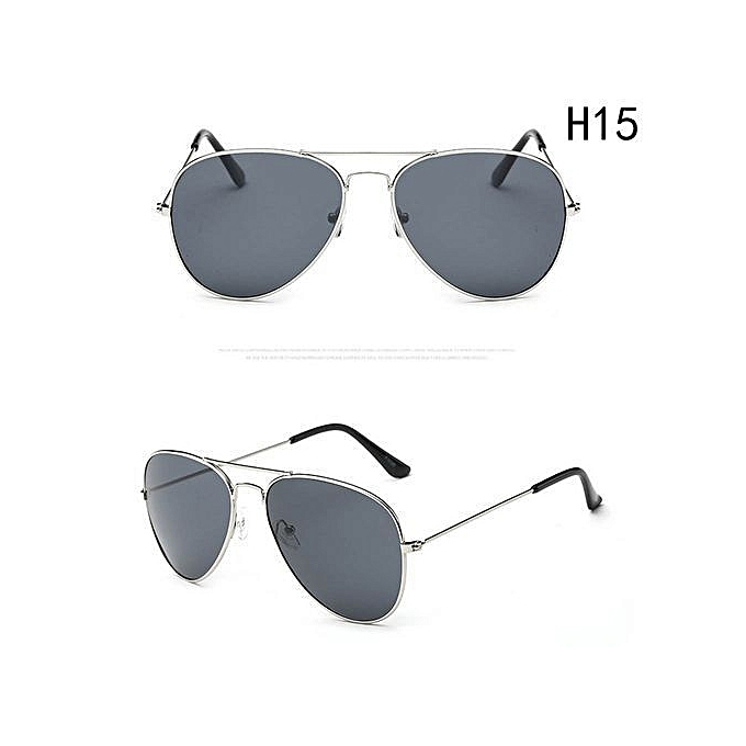 dbb2c27cb40df Shinewerop Fashion Outdoor UV400 Protection Unisex Sunglasses Aviator Metal  Eyewear Glasses Women Men Bat Mirror Pilot