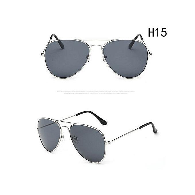753f4291b597 Shinewerop Fashion Outdoor UV400 Protection Unisex Sunglasses Aviator Metal Eyewear  Glasses Women Men Bat Mirror Pilot