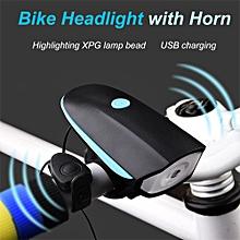 Mountain Bike Horn Bell Speaker & Flashlight Lamp
