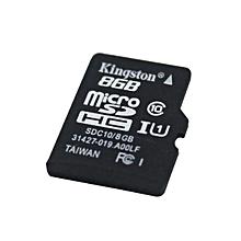 Micro SDHC TF Memory Card - Black (8GB / Class 10)