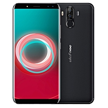 Power 3s,  4GB+64GB, Dual Back Cameras + Dual Front Cameras, 6350mah Big Battery, Face & Fingerprint Identification, 6.0 inch Android 7.1 MTK6763 Octa-core up to 2.0GHz, Network: 4G,  OTG,  Dual SIM(Black)