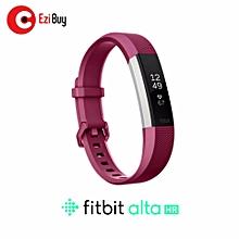 "Fitbit Alta HR Heart Rate + Fitness Wristband Small 5.5"" - 6.7"" (FUCHSIA) BDZ Mall"