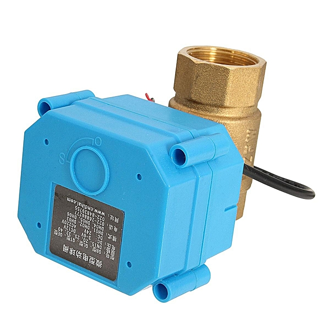 "... G3/4"" DN20 (reduce port) DC12V 2 Way Control Motorized Electrical Ball"