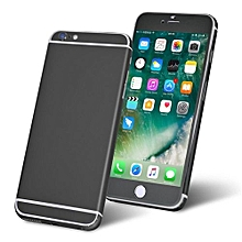 Full Body Front And Back Cover Precise Case PVC Sticker For IPhone 6 Plus/6S Plus Black