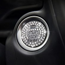Car Engine Start Key Push Button Cover Trim Sticker Decoration for Mazda