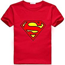 Boys Tshirt Superman hero