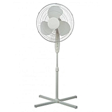 RM/260- Stand Fan, 3 Speed- White