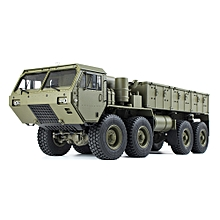 HG P801 P802 1/12 2.4G 8X8 M983 739mm Rc Car US Army Military Truck Without Battery Charger-green