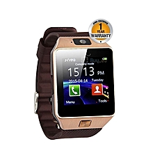 "W90 - 1.56"" Smart Watch - 128MB ROM - 64MB RAM - 0.3MP Camera - Gold"