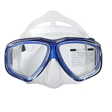 Anti Fog Waterproof Diving Swim Goggles Diving Glasses Face Mask Eyewear Tempered Glass Lens