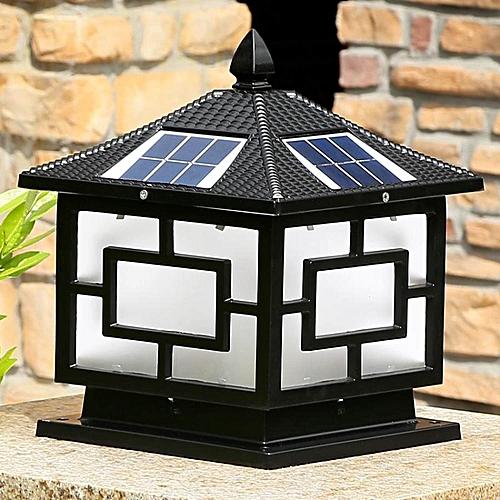 Wall Light Jumia: Generic LEBAIQI 5W Solar Pillar Light Wall Lamp Post Light