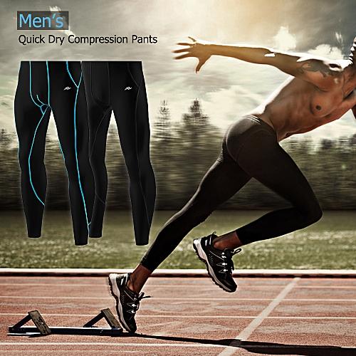 f226dfc030b37 Generic Lixada Men's Compression Pants Quick Dry Skin Tights Base Under Layer  Sports Running Long Pants