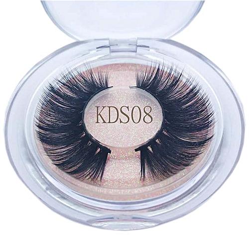 Buzzme Lashes 3d Faux Mink Lashes Natural Long High Quality Eyelashes Synthetic Eyelash Beauty & Health
