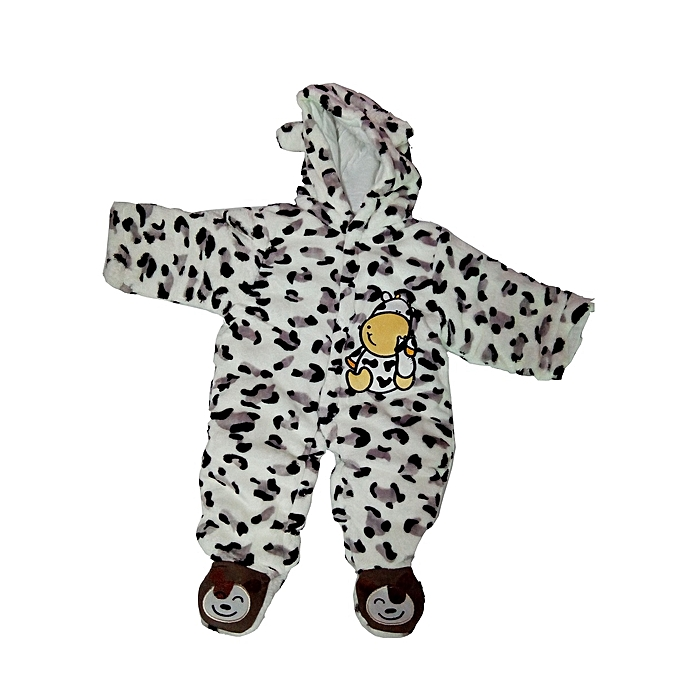 aaa56c2c9d814 UNIVERSAL Kids Baby Boy Girl Warm Infant Romper Jumpsuit Bodysuit Hooded  Clothes Outfit