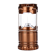 3-in-1 Rechargeable Camping Lantern Solar Flashlight