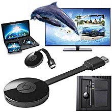Chromecast 2 Digital HDMI Media Video Streamer 2nd Generation - Black