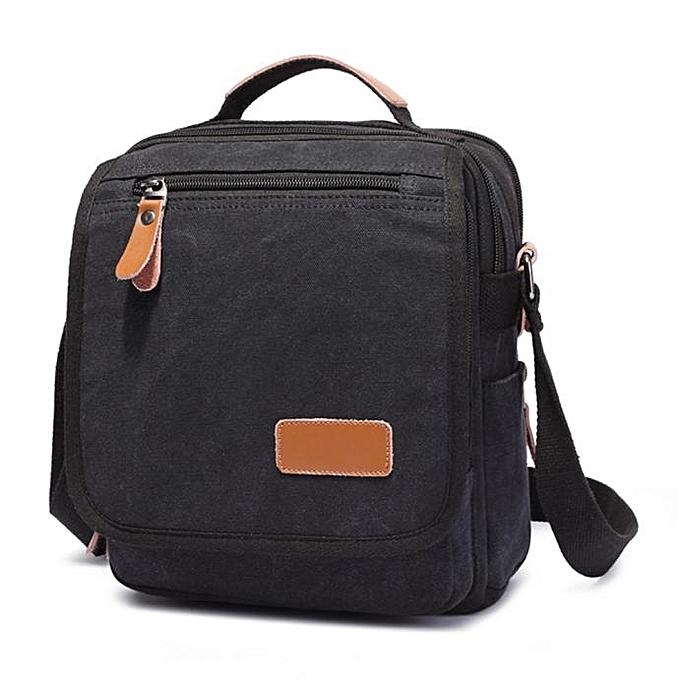 Generic shioakp Men s Canvas Messenger Shoulder Bag Handbag Outdoor Travel Hiking  Bag c931bd0c2d9e4