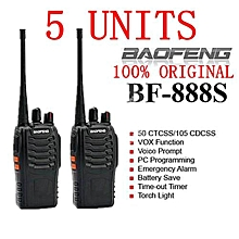 (5 units)BAOFENG 888S WALKIE TALKIE
