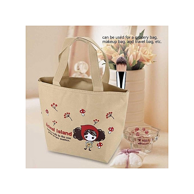 af535f06f48c Kids Girls Adults Insulated Lunch Bag Work Travel School Picnic Food  Storage Container