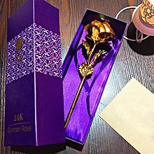 Unique Rose Decorative Gift - Gold