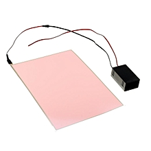 A4 EL Panel Electroluminescent Cuttable Paper Neon Sheet With Inverter Actuator #6