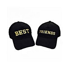 Best friends Cap -Black
