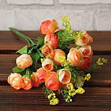 Artificial Flower Artificial Bouquet Flowers Home Decoration  Flowers-yellow