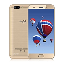Atom 4G Smartphone 5.2 inch Android 7.0 MTK6737 Quad Core 1.3GHz 2GB RAM 16GB ROM 2.0MP + 8.0MP Dual Rear Cameras-GOLDEN