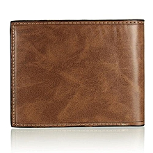 Fashion Men's Leather Wallet Credit/ID Card Holder Slim Coin Purse Pocket Gifts Coffee
