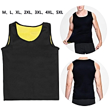 Neoprene Body Shaper Slimming Vest For Men L