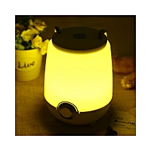 CBZ-001 - Portable Dimming LED Music Lamp Bluetooth Speaker BLUETOOTH SYSTEM - Yellow Light