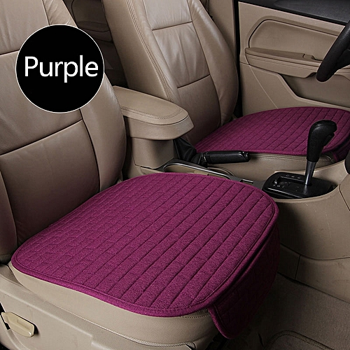 Buy Generic Breathable Flax Car Front Seat Cushion Car Interior Seat
