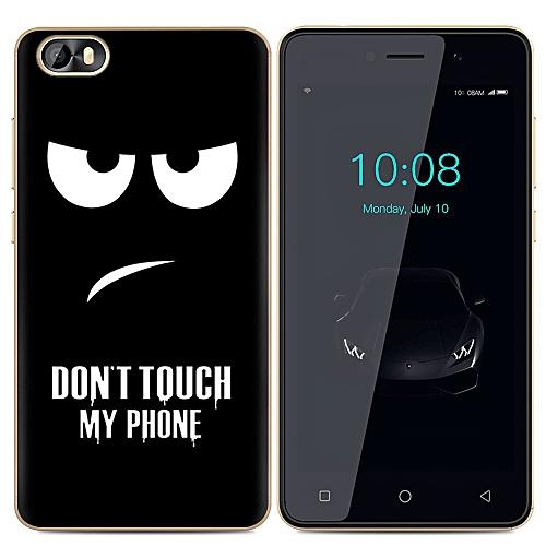 TECNO F3 Back Cover Silicone Phone Case Soft TPU Clear Cartoon