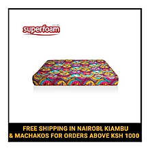Medium Duty Quilted Foam Mattress - Multicolored