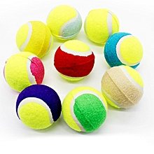Home-Small Size Dog Tennis Ball Giant Pet Toys for Chewing Toy For Training colorful