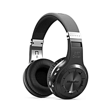 Bluedio H+ Turbine Wireless Bluetooth 4.1 Stereo Headset / Headphone (Black)