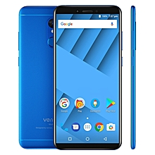M6 4GB+64GB Fingerprint Identification 5.7 inch Android 7.0 MTK6750 Octa Core up to 1.5GHz 4G Smartphone(Blue)
