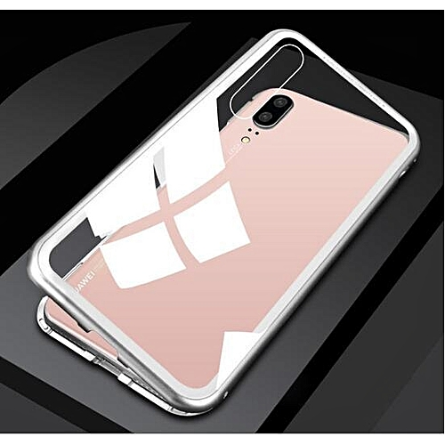 new arrivals d9883 7744a HOT Magneto Magnetic Adsorption Metal Case For Huawei P20 Pro Case Luxury  Tempered Glass Cover For Case for Huawei P20 Pro Phone Case 153353 Color-2