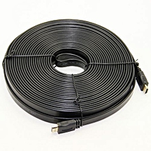 Hdmi cable 20m flat