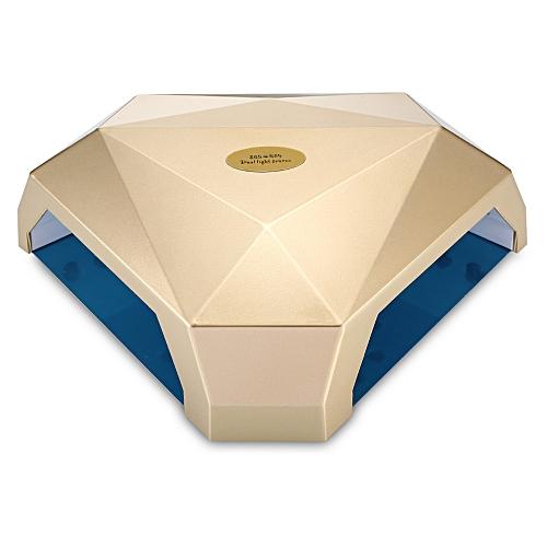 Uv Dual Light Source Nail Gel Lamp - Golden