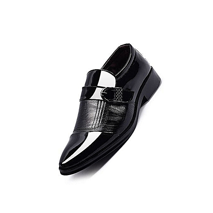 0a13c67c166a Nice Beauty Generic Fashion Men's Dress Modern Classic Slip On Leather Slip  On Formal Shoes Men Genuine Leather Casual Shoes Supper Plus Size -black