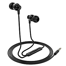 PTM D11 Wired In-ear Earphones Stereo Gaming Headset Metal Headphones with In-line Control & Microphone for PSP iPhone iPad Android Smartphones Tablet PC Laptop
