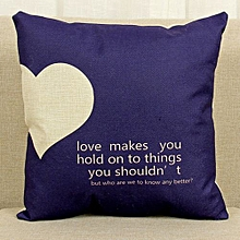 Lovers Sofa Bed Home Decoration Festival Pillow Case Cushion Cover